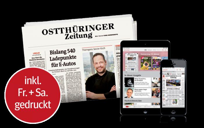 OTZ Digital Smartphone Tablet PC Zeitung