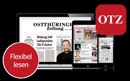 Die digitale OTZ flexibel lesen